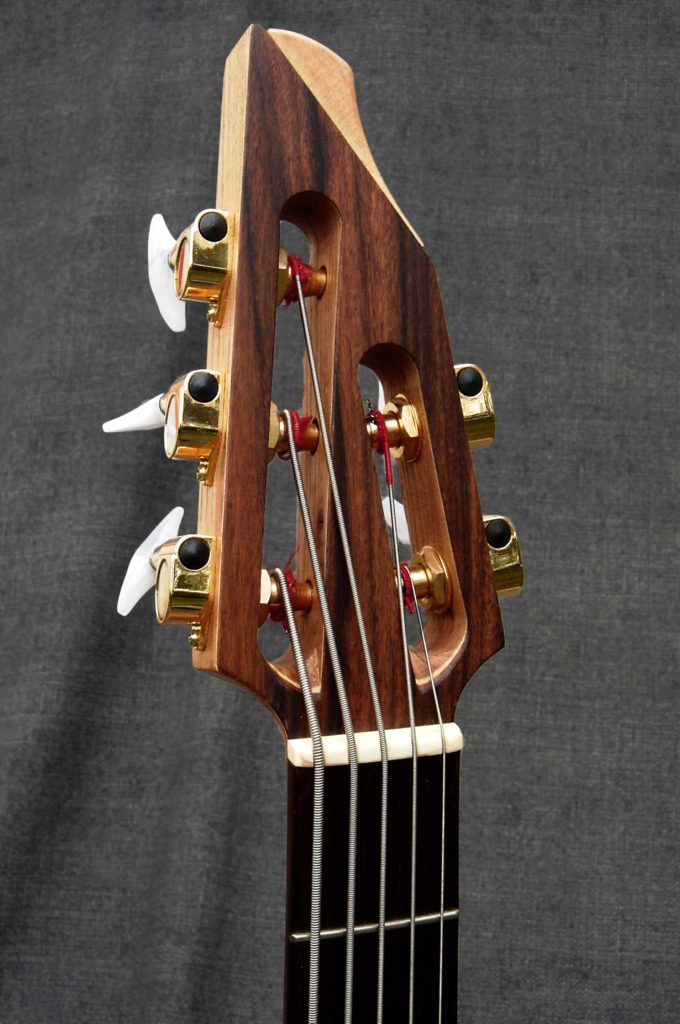 5 String Bass Headstock